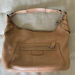 Coach hobo style leather bag